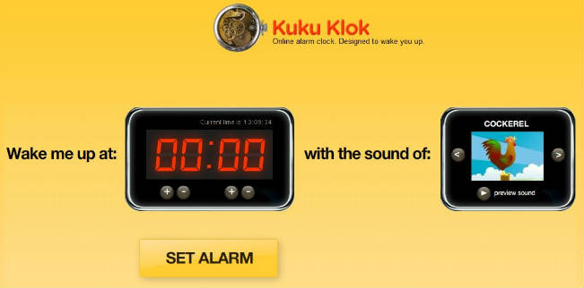 kuku clock online alarm clock