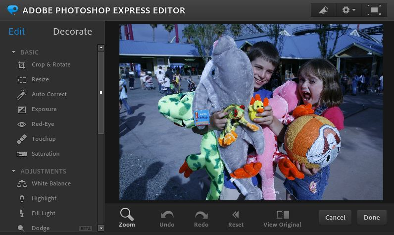 photoshop photo editor