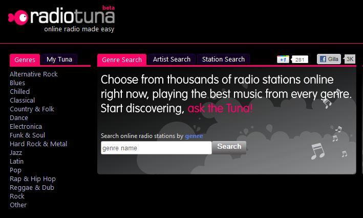 radiotuna online radio