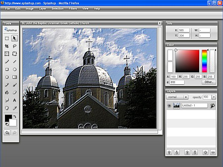 splashup online image editor
