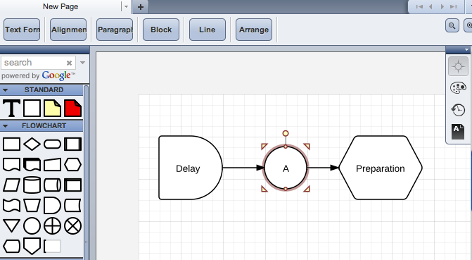 LucidChart Diagram Flowchart Tool