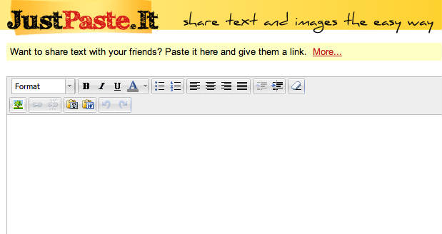 JustPaste.It online text sharing
